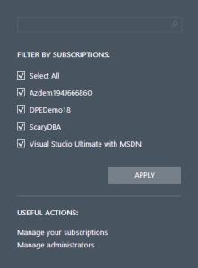 FilterSubscriptions